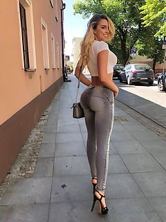 tight ass in tight